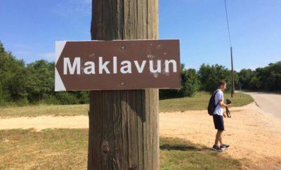 Postavljene signalizacijske oznake i info tabla na Maklavunu