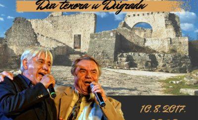 Dva tenora s Kvarnera u Dvigradu