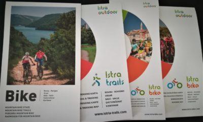 Nove karte biciklističkih i pješačkih staza
