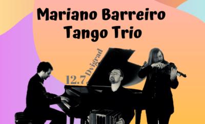 Koncert u Dvigradu: Mariano Barreriro Tango Trio