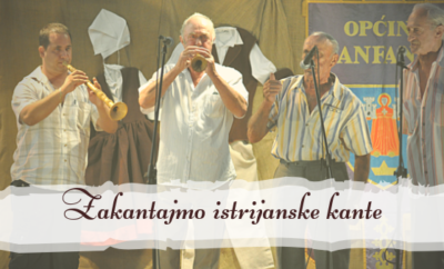 """U subotu 23. susret istarskih kantandura """"Zakantajmo istrijanske kante"""" u Baratu"""