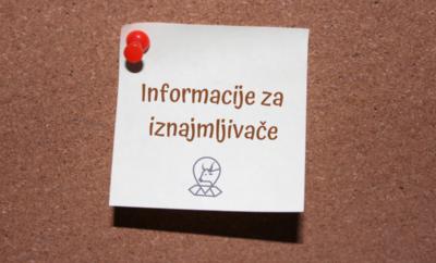 Informacije za privatne iznajmljivače (odgode i otpisi obaveza za plaćanje)