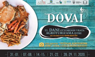Dani otvorenih vrata agroturizama Istre 2021.