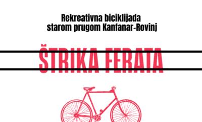 """Biciklijada """"Štrika-Ferata"""" povodom obilježavanja dana Općine Kanfanar"""